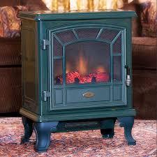 comfort smart americana green electric fireplace stove with remote electric fireplace stove