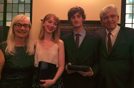 osler student essay contest med e news pam and rolando del maestro 2017 osler essay contest co winners clare fogarty and andre lametti center photo courtesy of dr rolando del maestro