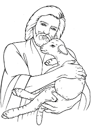 Small Picture Jesus Lamb of God and Good Shepehrd Coloring Pages