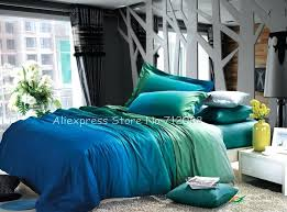 fascinating blue green bedding at modern bedroom with sets color for plans lime orange and inspiring