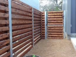 horizontal wood slat fence. Unique Horizontal Custom Horizontal Shadowbox  Gate Area With Wood Slat Fence I