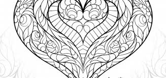 Small Picture Heart Coloring Pages For Adults Coloring Coloring Pages