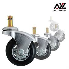 axl 2 5 office chair caster wheel replacement for ikea rollerblade wheels heavy duty casters for