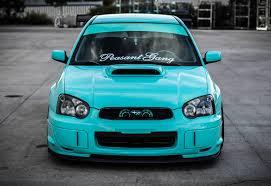 subaru wrx 2004 stance.  Wrx Stanced Tiffany Blue Subaru WRX STi  Peasantgang Teaser Inside Wrx 2004 Stance