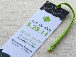 bookmark save the date bookmark save the date monogram indian lattice modern and