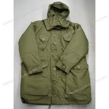 parka imported canadian military style olive drab color