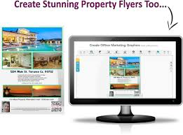 real estate squeeze pages single property sites easy to use online graphics creator makes property flyers