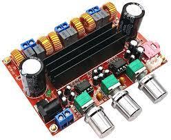 TPA3116 2,1 Subwoofer Lautsprecher Verstärker Digitale Audio Verstärker  Board TPA3116D2 DC12V 24V 2*50 W + 100 W|digital amplifier board|chip  50wchip board - AliExpress