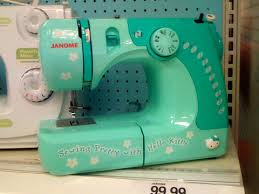 Hello Kitty Green Sewing Machine