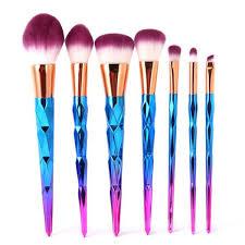 unicorn brush sets. rainbow diamond unicorn™ 7pcs makeup brush set unicorn sets i