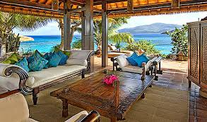 View in gallery caribbean style outdoor area