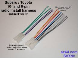 radio wiring adapter harness for subaru and toyota throughout metra diagram