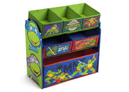 Ninja Turtle Bedroom Furniture Teenage Mutant Ninja Turtles Wooden Toy Organizer Delta Children