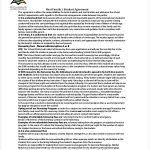 Student Agreement Contract Homestay Agreement Template - Metierlink.com