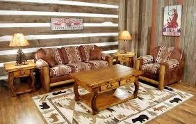 rustic modern living room furniture. Rustic Modern Living Room Furniture With Brown Sofa L