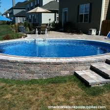 sunken above ground swimming pools. Plain Swimming These Easytofollow Instructions Will Help You Close And Winterize An Above  Ground Pool At The End Of Swimming Season On Sunken Above Ground Swimming Pools