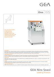 Standard Office Equipment List One 15ts Gea Mechanical Equipment Italia S P A Pdf Catalogs