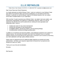 software testing cover letter examples  it cover letter samples