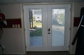 good sliding patio doors with blinds between the glass for unique french doors blinds inside glass