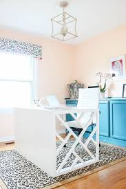 home office makeovers. After - Colorful Home Office Makeover Home Office Makeovers