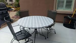 round outdoor table cover large size of accessories stunning round gray vinyl elastic table covers round