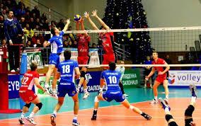 Коцогуб Евгений Валерьевич Волейбол Волейбол англ volleyball от volley удар с лёта и ball мяч вид спорта командная спортивная игра в процессе которой две команды соревнуются на