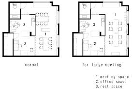 office room plan. Exellent Office Office Takeshi Hamada Plusmood Plan Inside Room N