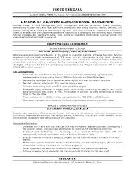 Retail Executive Resume Executive Sales Resume Executive Sales