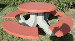 concrete garden bench. Concrete Garden Bench With Table (Concrete Benc)