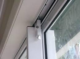 image of on top sliding closet door lock