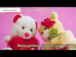i m sorry baba sorry teddy bear love cute whatsapp status video