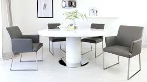 white round extending dining table medium size of white round extendable dining table and chairs white