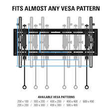 Vesa Mounting Pattern Mesmerizing SANUS BLT48 Tilting Wall Mounts Mounts Products SANUS