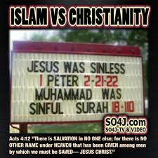 Islam Vs Christianity Comparison Charts