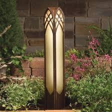 TZT Cathedral V Landscape Bollard Light - Kichler exterior lighting