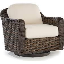 south hampton swivel glider chair
