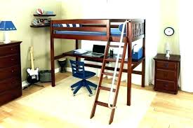 Bunk Beds With Desk Underneath Loft Bed And