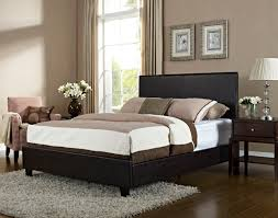 bolton brown queen upholstered bed