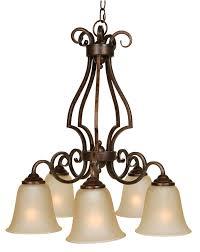 down chandeliers