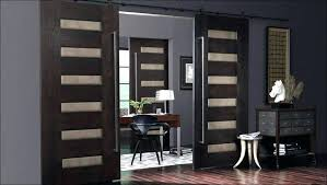 sliding doors designs design ideas beautiful double panel sliding door connecting diffe rooms inside contemporary home