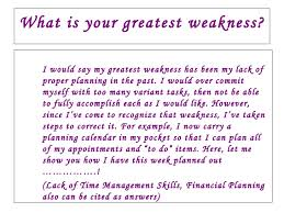 Sample Weaknesses For Interview What Are Your Strengths Answers Under Fontanacountryinn Com
