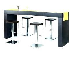 Table Haute Avec Tabouret Ensemble Style Table Bar Mange Bout Table