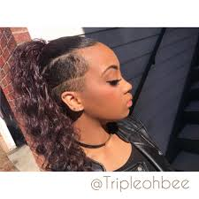 Black Woman Hair Style short black hairstyles shelbee harman shaved hair shaved 2904 by wearticles.com