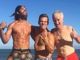 joakim noah wife. Unique Noah Joakim Noah Shows Off Shredded Beach Bod With Josh Brolin And John McEnroe On Wife N
