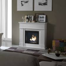 Living Room With A Fireplace Modern Bioethanol Fireplace Free Standing Wall Mounted My Italian