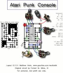 a nicely done and easy to understand schematic of the atari punk a nicely done and easy to understand schematic of the atari punk console