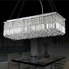 dining room rectangle dining room lighting 22 winsome long size rectangle crystal pendant light fitting
