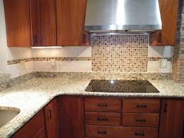 beautiful subway tile kitchen backsplash home depot brown varnished wood kitchen cabinet beige seamless granite kitchen