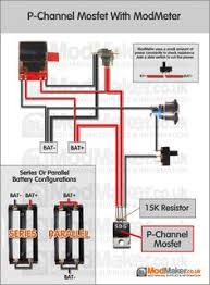 series battery mosfet wiring diagram box mod schematy diy p channel mosfet modmeter wiring diagram
