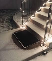 residential snow melting mats
